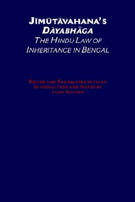 Image for Jimutavahana's Dayabhaga: The Hindu Law of Inheritance in Bengal (South Asia Research)