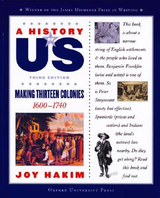 Image for A History of US: Book 2: Making Thirteen Colonies 1600-1740