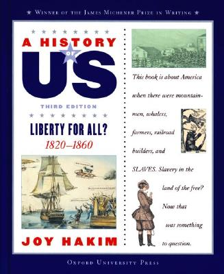 Image for A History of US: Book 5: Liberty for All? 1820-1860