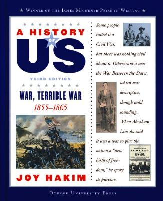 Image for A History of US: Book 6: War, Terrible War 1855-1865