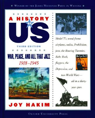 Image for A History of US: Book 9: War, Peace, and All That Jazz 1918-1945