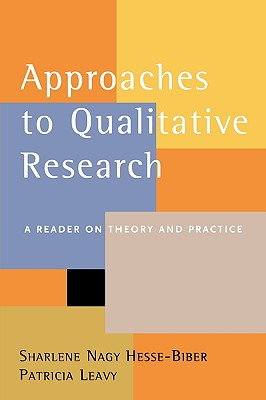 Image for Approaches to Qualitative Research: A Reader on Theory and Practice