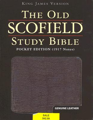 Image for The Old Scofield® Study Bible, KJV, Pocket Edition