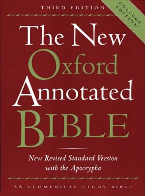 Image for New Oxford Annotated Bible, The (New Revised Standard Version with the Apocrypha) (Third College Edition)