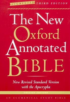 Image for The New Oxford Annotated Bible with the Apocrypha (New Revised Standard Version)