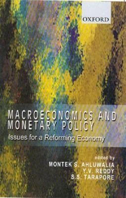 Image for Macroeconomics and Monetary Policy: Issues for a Reforming Economy