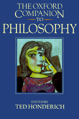 Image for The Oxford Companion to Philosophy