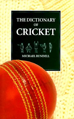 Image for The Dictionary of Cricket