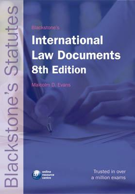 Image for Blackstone's International Law Documents (Blackstone's Statute Book Series)