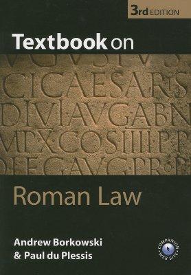 Textbook on Roman Law, Borkowski, Andrew; du Plessis, Paul