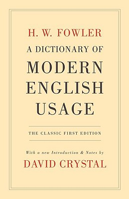 Image for Dictionary of Modern English Usage (Second)