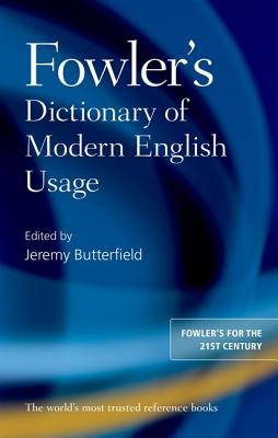 Image for Fowler's Dictionary of Modern English Usage