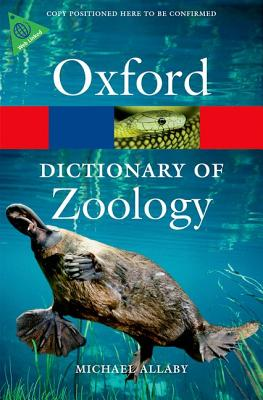 Image for A Dictionary of Zoology (Oxford Quick Reference)