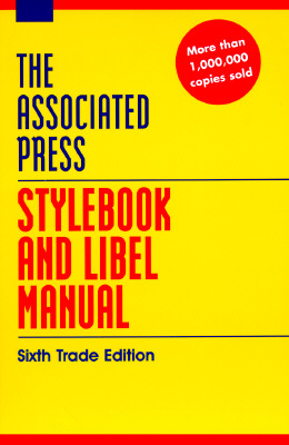 Image for ASSOCIATED PRESS STYLEBOOK AND LIBEL MAN