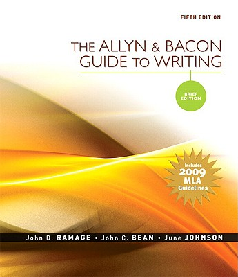Image for The Allyn & Bacon Guide to Writing: Brief Edition, MLA Update Edition (5th Edition)