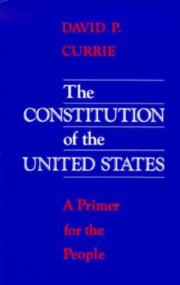 Image for The Constitution of the United States: A Primer for the People