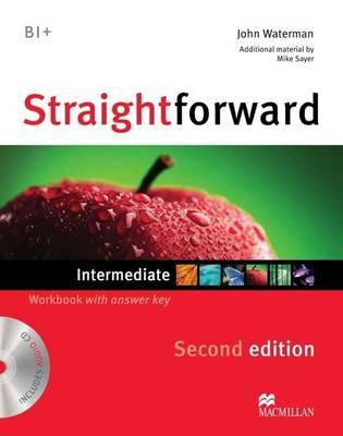 Image for Straightforward Intermediate Level Workbook with Key + CD