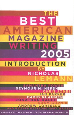 The Best American Magazine Writing, 2005