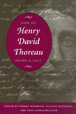 Image for Life of Henry David Thoreau