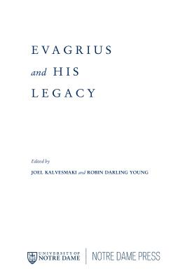 Image for Evagrius and His Legacy
