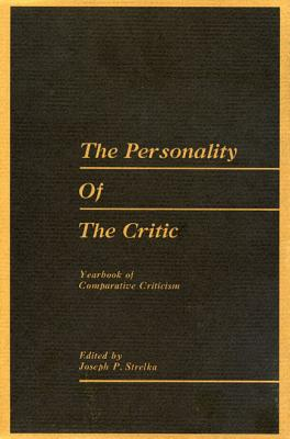 Image for Yearbook of Comparative Criticism, Vol. 6: The Personality of the Critic