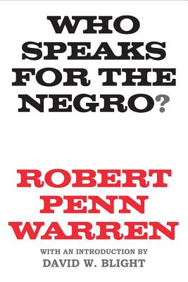 Image for Who Speaks for the Negro?