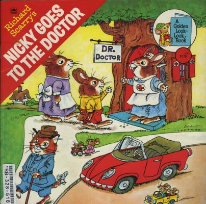 Image for Richard Scarry's Nicky Goes to the Doctor (Pictureback(R))