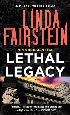 Lethal Legacy, Fairstein, Linda