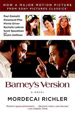 Image for Barney's Version (Movie Tie-in Edition) (Vintage International)
