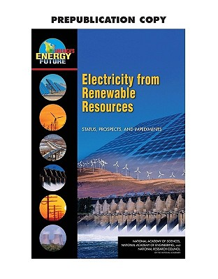 Image for Electricity from Renewables: Status, Prospects and Impediments