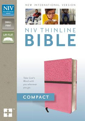 "Image for ""NIV, Thinline Bible, Compact, Imitation Leather, Pink, Red Letter Edition"""