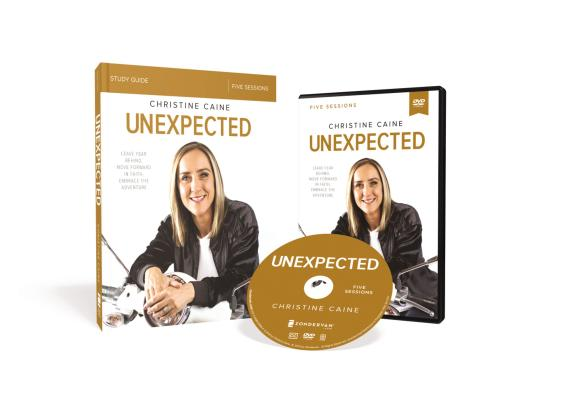 Image for Unexpected Study Guide with DVD: Leave Fear Behind, Move Forward in Faith, Embrace the Adventure