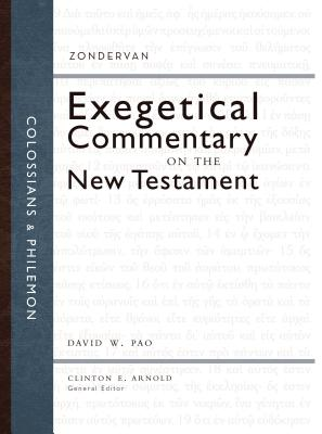 Image for ZEC Colossians and Philemon (Zondervan Exegetical Commentary on the New Testament)