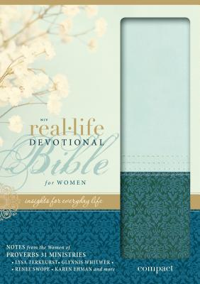 Image for NIV, Real-Life Devotional Bible for Women, Compact, Leathersoft, Teal: Insights for Everyday Life