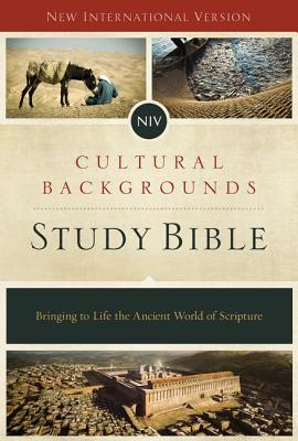 Image for NIV Cultural Backgrounds Study Bible: Bringing to Life the Ancient World of Scripture