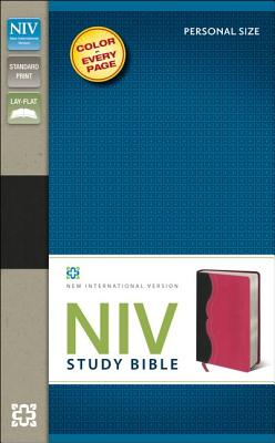 Image for NIV Study Bible (Charcoal/Pink)