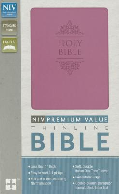 Image for NIV Value Thinline Bible Imitation Leather Pink