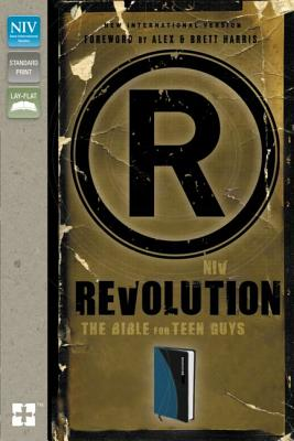 "Image for ""Revolution: The Bible for Teen Guys (NIV, Updated Edition, Mediterranean Blue Italian Duo-Tone)"""