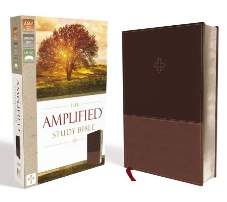"Image for ""''Amplified Study Bible, Large Print, Imitation Leather, Brown''"""