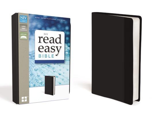 Image for NIV Read Easy Large Print Bible (Black Italian Duo-Tone)