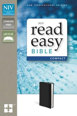 "Image for ""NIV, ReadEasy Bible, Compact, Imitation Leather, Black, Red Letter Edition"""