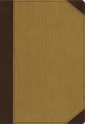"""Image for """"NIV, Personal Size, Cultural Backgrounds Study Bible (Tan Imitation Leather, Thumb Indexed)"""""""