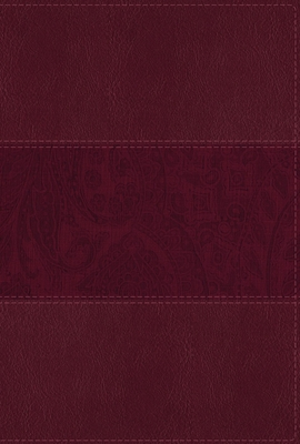 Image for NIV Study Bible, Fully Revised Edition, Large Print, Leathersoft, Burgundy, Red Letter, Thumb Indexed, Comfort Print