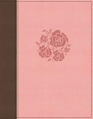 """Image for """"NIV Journal the Word Bible for Women Comfort Print, Leathersoft, brown/pink"""""""