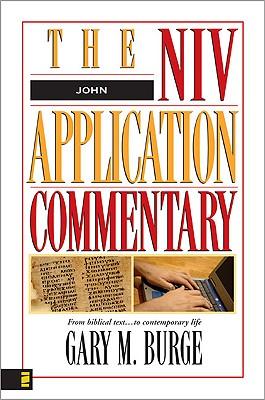 John: The NIV Application Commentary, Gary M. Burge