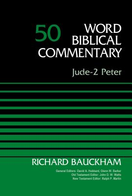 Image for Jude-2 Peter, Volume 50 (Word Biblical Commentary)