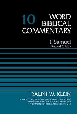 Image for 1 Samuel, Volume 10: Second Edition (Word Biblical Commentary)