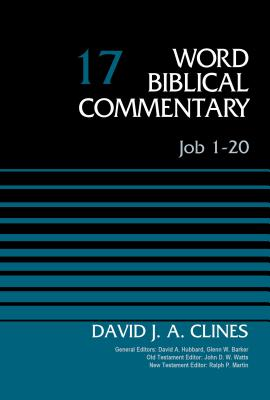 Image for WBC Job 1-20, Volume 17 (Word Biblical Commentary)