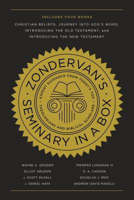Image for Zondervan's Seminary in a Box: Includes Christian Beliefs, Journey into God's Word, Introducing the Old Testament, and Introducing the New Testament