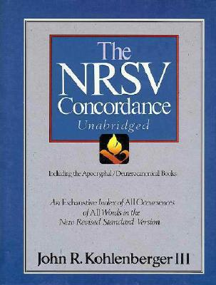 Image for The NRSV Concordance: Unabridge Including the Apocryphal/Deuteroncanonical Books